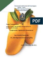 Norma Tecnica de Mermelada de Mango.