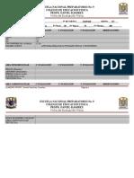 Ficha de Evaluación física  contestada