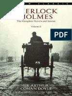 The Complete Sherlock Holmes, Volume II - Sir Arthur Conan Doyle