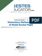 Model Rocketry Mathematics