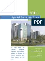 Special Economic Zones - Project Report Upload