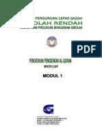 1. Kulit PQ-jQAF Minor Modul 1