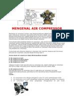 Mengenal Air Compressor,Spry Gun,& Alat Poles