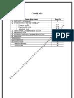 A Project Report on Capital Budgeting at Godavari Sugar Mills Ltd
