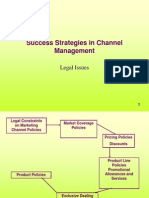 Legal Issues in Marketing Channel