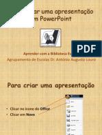 Como Fazer Um PowerPoint