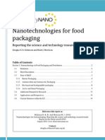 Food Packaging Report 2010 DKR Robinson