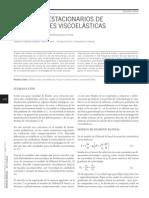 Flujos no estacionarios de disoluciones viscoelásticas