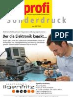 Reportage Fachzeitschrift PROFI Ausgabe 12-2009