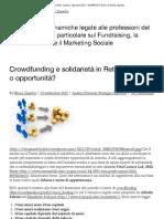 Crowdfunding e solidarietà in Rete_ moda o opportunità_ « NONPROFIT BLOG di Elena Zanella