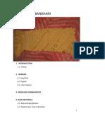 Bandhini Extended Documentation