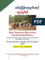 Mon Education Fund Dinner Nov 2012 LCOKED