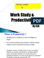 Module 1 Work Study & Productivity ILO