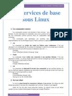 Les Services de Base Sous Linux