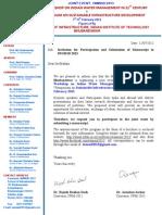 Invitation to Particiapnts