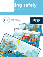IOSH Working Safely Brochure