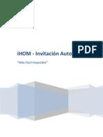 iHOM-InvitaciónAutomática