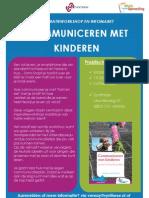 Communiceren Met Kinderen - E-Flyer _venray