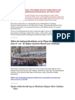 12-09-21 Dispatch de Barcelona - The Catalan Drive for Independence and Resistance to the Legal-banking Fraud Pandemic