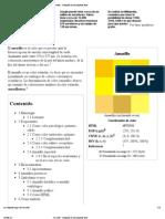 Amarillo - Wikipedia, La Enciclopedia Libre