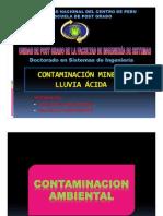Contaminacion Minera - Lluvia Acida