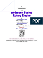 Hydrogen Fuel Rotary Engine