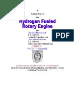 Hydrogen Fuel Rotary Engine