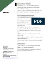 Curriculum Mercedes Orozco
