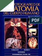 atlas fotografico de anatomia del cuerpo humano [3era edición]
