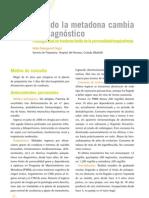 6. Patología Dual en trastorno límite de la personalidadesquizofrenia.