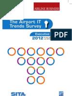 Airport IT Trends Survey 2012