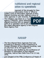 Bilateral Multilateral and Regional Information Co Operations