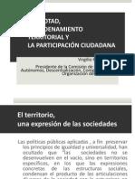 ANÁLISIS DE VIRGILIO HERNÁNDEZ DE LA COMISIÓN DE GOBIERNOS AUTÓNOMOS, DESCENTRALIZACIÓN, COMPETENCIAS Y ORGANIZACIÒN DEL TERRITORIO sobre EL COOTAD, EL ORDENAMIENTO TERRITORIAL Y LA PARTICIPACIÓN CIUDADANA