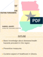 Health Tips for Foreigners in Ghana