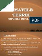 Climatele Terrei