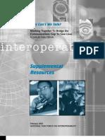 National Task Force Interoperability Supplemental