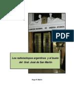 HUGO MARTIN ATOMICA CORDOBA RADIOISOTOPOS ARGENTINOS Y MONUMENTO SAN MARTIN