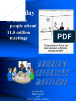 Running Effective Meetings Presentation