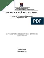 Manual Proyecto de titulación. Última versión. Julio 2012