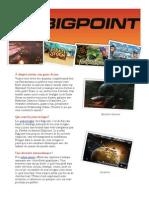 Jeux en ligne sur BigPoint
