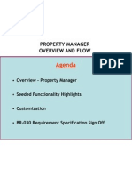 Property Manager Standard & Solution