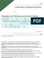Java Boot Camp - Debugging Java OOM Using Memory Analyzer