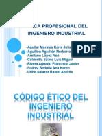 Ética profesional del ingeniero industrial