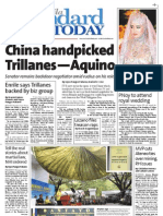 Manila Standard Today - Saturday (September 22, 2012) Issue