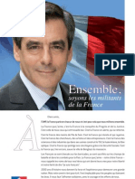 Profession de Foi Francois Fillon