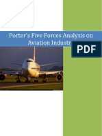 Porters Analysis on Aviation