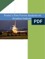 Porters Analysis on Aviation