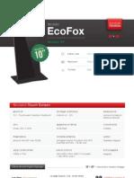 "Totem Multimediale 10"" - Modello EcoFox"
