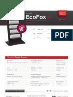 """Totem Multimediale 10"""" - Modello Eco Fox Expo"""