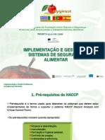 Gerentes Implementacao Gestao de Sistemas Seguranca Alimentar